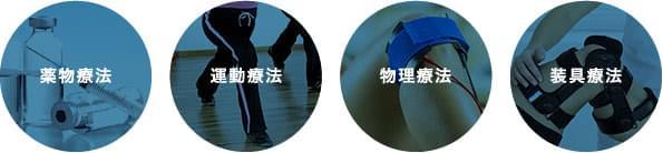 変形性ひざ関節症の保存療法
